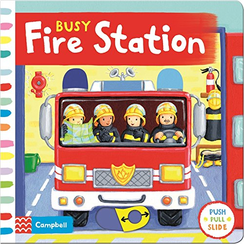 Busy Fire Station (Busy Books)