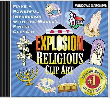 Art Explosion Religious Clip Art