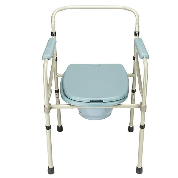 Mefeir Commode Toilet Chair Heavy Duty Steel 330LBS, FDA Medical ...