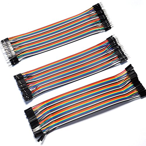 Gikfun 3 x 40P 20cm Dupont Wire Jumper Cable 2.54 1P-1P Male-Male/Female-Female/Female-Male EK8403 1000pcs dupont jumper wire cable housing female pin contor terminal 2 54mm new