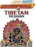 Creative Haven Tibetan Designs Coloring Book (Creative Haven Coloring Books)