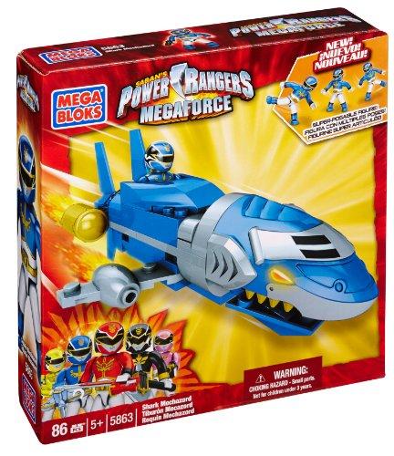 Mega Bloks Power Rangers Megaforce - Shark Mechazord