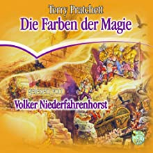 Die Farben der Magie: Ein Scheibenwelt-Roman Hörbuch von Terry Pratchett Gesprochen von: Volker Niederfahrenhorst