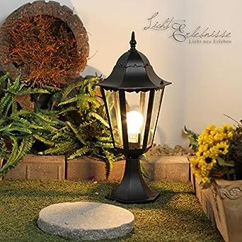 luminaire petit lampadaire ext rieur ext rieur lanterne de jardin classique lampe. Black Bedroom Furniture Sets. Home Design Ideas