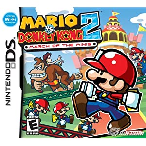61ARZWT3CHL. SL500 AA300  Download Mario Vs. Donkey Kong 2: March of the Minis 2006  Nintendo