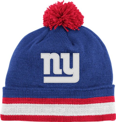 nfl mitchell ness new york giants royal blue red throwback jersey