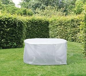 friedola 15499 wehncke housse b che de protection pour salon tables de jardin 143 x 93 x 83 cm. Black Bedroom Furniture Sets. Home Design Ideas