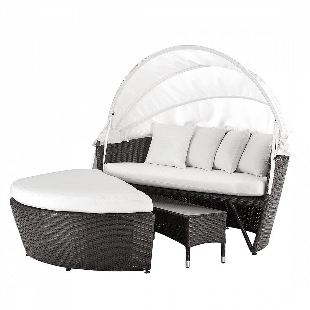 Rattan Strandkorb – Gartenmöbel – Sonneninsel – SYLT LUX günstig