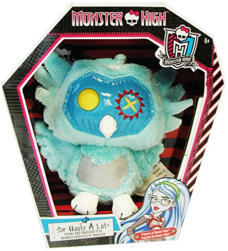 Monster High Pet Friend Sir Hoots A Lot Bean Plush