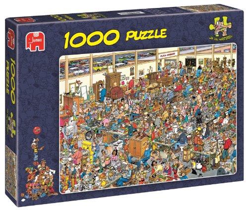 Jumbo Puzzle - Jan Van Haasteren - Antique Show (1000 Pieces)