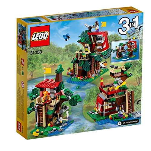 LEGO Creator 31053 - Set Costruzioni Avventure sulla Casa sull'Albero