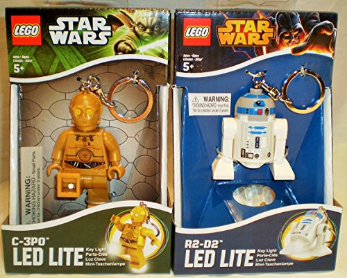 Star Wars Lego Key Light Bundle C-3Po & R2-D2