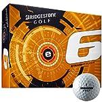 Bridgestone 2015 E6 White Golf Balls...