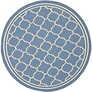 Safavieh Courtyard Collection CY6918 243 Blue and Beige