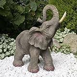 Glückselefant JAMBO Elephant, afrikanische Elefantenskulptur,Elefant
