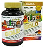 Nature's Plus, Animal Parade Gold, Children's Chewable Multi-Vitamin & Mineral, Assorted Flavors, 120 Animals