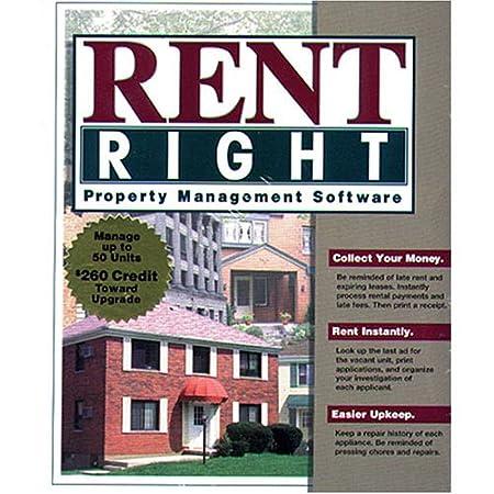 RentRight 50 unit Property Management Software V3