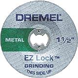 Dremel EZ541GR EZ Lock Grinding Wheel - Metal (Color: green, Tamaño: Pack of 1)