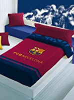 FC Barcelona Manta Escudo terciopelo (Granate / Azul)