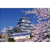 PT-002 桜咲く姫路城 「日本の名城 - 桜」ポストカード