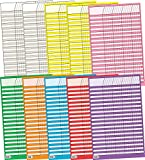 Creative Teaching Press Small Vertical Incentive Charts Variety Pack (5169)