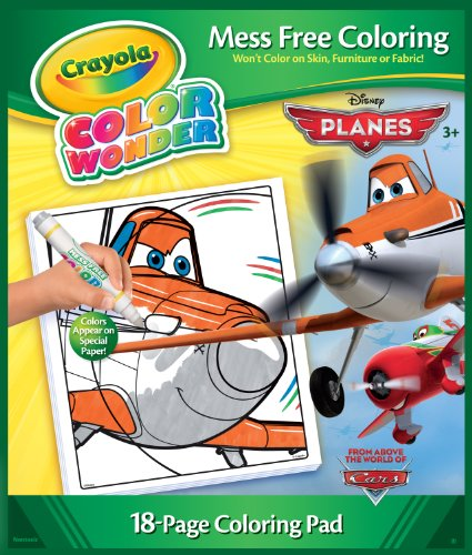 Crayola Color Wonder Disney Planes Coloring Book and Markers - 1