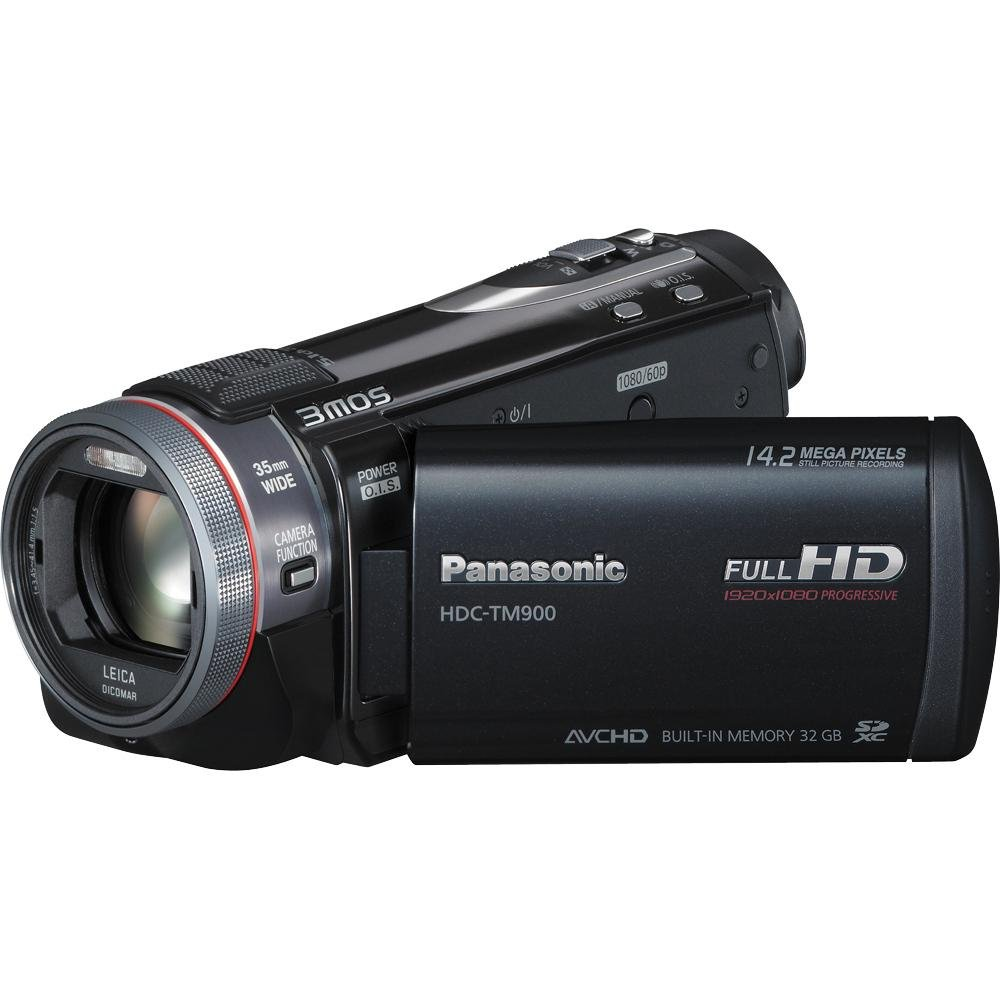 Panasonic HDC-TM900K 3D Camcorder with 32GB Internal Flash Memory (Black)
