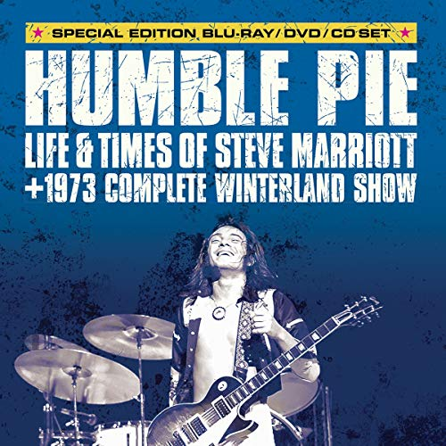 Blu-ray : STEVE MARRIOT - Humble Pie: Life And Times Of Steve Marriott (3 Discos)
