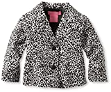 Isaac Mizrahi Baby-Girls Infant Leopard Print Velour Jacket