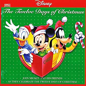 buy disney 12 days christmas online at low prices in india amazon music store. Black Bedroom Furniture Sets. Home Design Ideas
