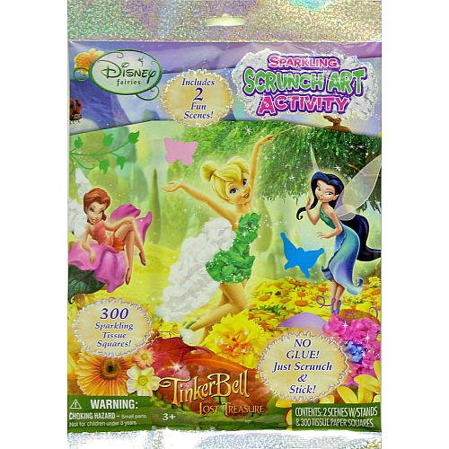 Disney Fairies Sparkling Scrunch Art Activity