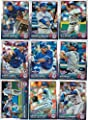 2015 Toronto Blue Jays Topps Opening Day MLB Baseball Series Complete Mint 9 Card Team Set with Jose Reyes Jose Bautista and More