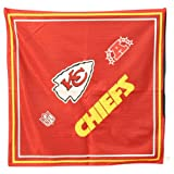 Kansas City Chiefs Jersey Style Bandanas (Measures 22