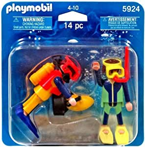 Amazon.com: PLAYMOBIL 5924 DIVERS [Toy]: Toys & Games