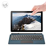 Egal 2 in 1 10.1 Inch VOYO VBOOK I3 Tablet Touch Screen Point Stylus Pen Laptop Windows 10 System Z8350 Quad Core 8GB 128GB Netbook 2# US plug (Color: 2#)