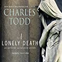 A Lonely Death: An Inspector Ian Rutledge Mystery (       UNABRIDGED) by Charles Todd Narrated by Simon Prebble