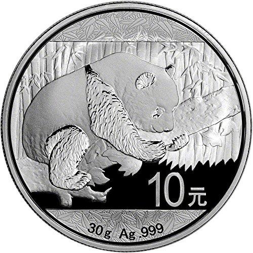 2016 China Silver Panda (30 g) 10 Yuan Brilliant Uncirculated