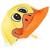 Cloudnine Children's Duck Umbrella Full Size (Color: Yellow, Tamaño: Child)