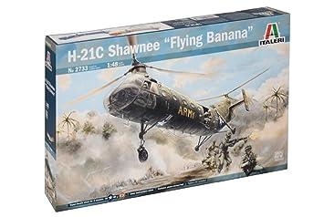 Maquette avion militaire : H-21C Shawnee - Banane Volante
