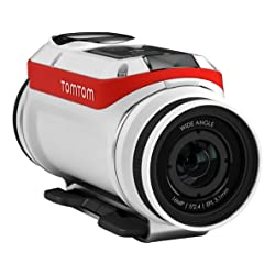 TomTom Bandit 4K HD 1080p Premium Pack Action Camera - White