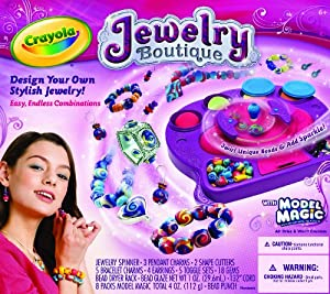 Crayola Model Magic Jewelry Studio Toys Games