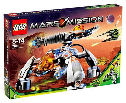Lego Mars Mission Set #7649 MT-201 Ultra-Drill Walker Amazon.com