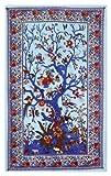Sunshine Joyreg Tree Of Life Indian Tapestry Beach Sheet