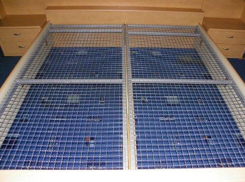 lattenrost 90 200 cm aus metall liegerost gitterrost f r. Black Bedroom Furniture Sets. Home Design Ideas