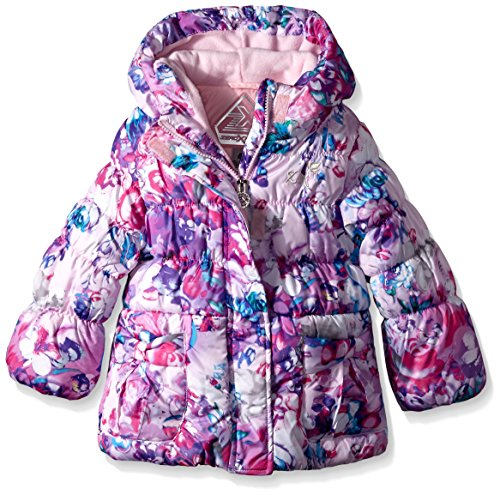 ZeroXposur Little Girls' Christie Toddler Puffer Coat, Beauty, 3T