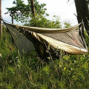 Hennessy Hammock Explorer Deluxe Asym with Zipper (3 lbs 6 oz) by Hennessy Hammock