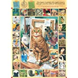 Ravensburger Cat Conundrums The Artist's Cat 1000 piece jigsaw puzzleby Ravensburger