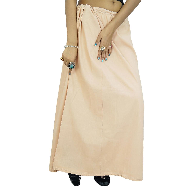 Fest Petticoatunderskirt Bollywood indische Frauen tragen Baumwollfutter für Sari online kaufen
