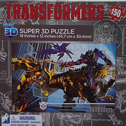 Transformers Age of Extinction Super 3D Puzzle - 150 Pieces