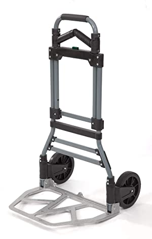 Liberty Industrial 10002 Folding Luggage Dual Handle w/Grips Hand Truck